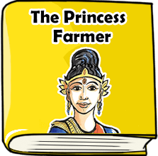 The Princess Farmer Story Book with Short Moral for Kids
