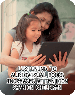 improving childs attention span through books